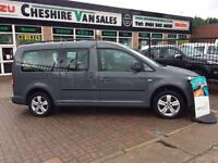 2012 62 VOLKSWAGEN CADDY MAXI 1.6 C20 LIFE TDI BLUEMOTION TECHNOLOGY 102 BHP 7 S