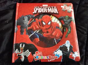 Spider-Man puzzle book