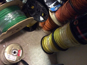 Electrical Wires 12.2, 14.3, 10.2, 10.3 Loomex, and 500w Cord