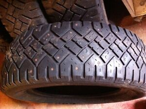 195-65R-15 studded winter tires