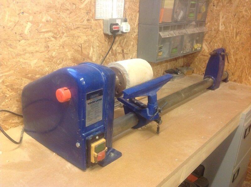 Draper wood lathe