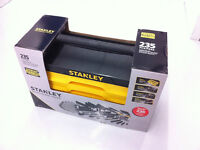 NEW - Stanley 235-Piece Professional Chrome Mechanic Tool Set!