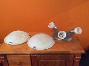 Ceiling lamps & range hood fan