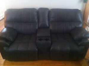 Leather couch and love seat 1300 OBO