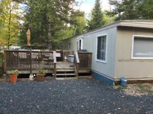 Whiteshell getaway.  Site #44 - Whispering Pines campground.