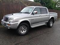 Mitsubishi L200 2.5 TD Ltd Warrior
