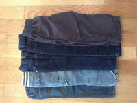 5 pair of Boys pants size 4