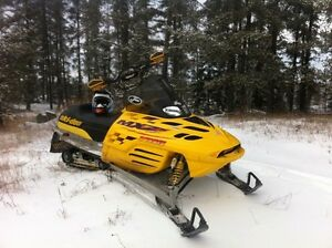 1999 MXZX 440 factory race sled