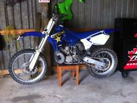 2001 Yz 250 with ownership