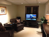 Luxury Fully Furnished 1 Bedroom Apartment in Central Toronto