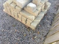 Yellow Fyfe stone bricks