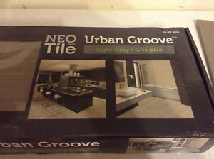 Urban groove floor / wall tile