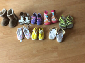 GIRLS SHOES/BOOTS - 12 TO 48 MTHS