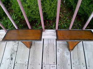 Excellent pieces including pair of brown metal wall sconces. Windsor Region Ontario image 2