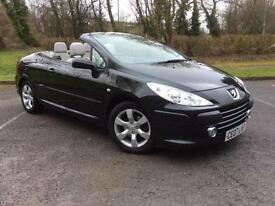 Peugeot 307 CC 1.6 16v ( 110bhp ) Coupe 2006MY Sport
