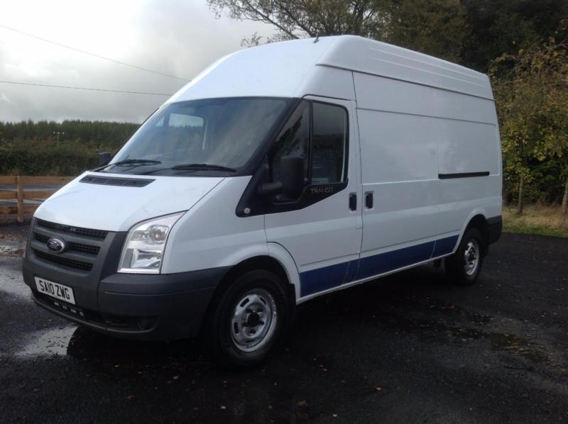Ford Transit 2.2TDCi Duratorq ( 115PS ) 350L High Roof Van 350 LWB 2010