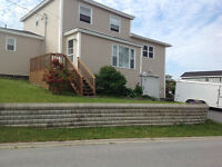FOUR BEDROOM HOME WITH GARAGE ON HUMBER HEIGHTS, CORNER BROOK