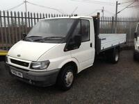Ford Transit 2.4TDCi 137 ps 6 speed tipper px to clear