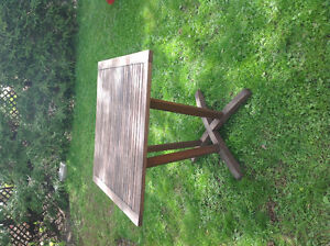 Outdoor table for sale, in good condition.
