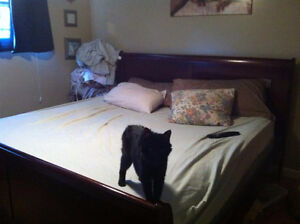 Louis Phillipe King bed for sale