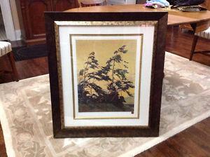 Large Framed Tom Thompson Print