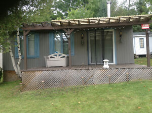 Chalet camping a vendre