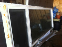 Extra large vinyl window for sale