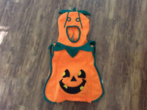 Toddler pumpkin Halloween costume