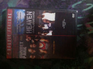 Double feature dvd sunset park/heaven is a playground movies