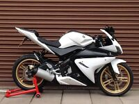 Yamaha YZF R125 Only 7472miles. Delivery Available *Credit & Cards Accepted*