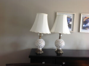 Beautiful vintage lamps
