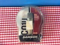 Samson Audio C01U USB Studio Condensor Microphone Boxed.