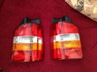 VW T5 original rear lights
