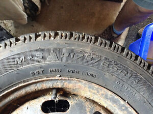 Ford Escort Winter Tires set of 4 Kitchener / Waterloo Kitchener Area image 2
