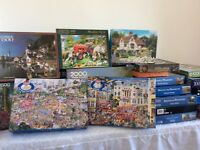 Multi selection of jigsaws 48 altogether