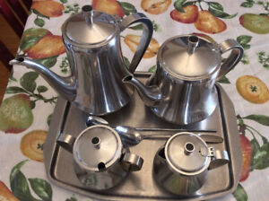 Stainless Steel Tea Set - only $30