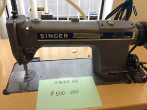 Extra industrial sewing machines for sale