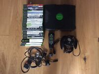 Original Xbox Console with 26 Games, 1 Controller, Wireless DVD Remote Control and all Leads