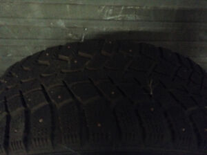 """17"""" rims and winter tires for 5 bolt Cobalt"""