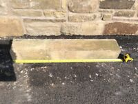 "YORKSHIRE STONE WINDOW CILL 37"" long."