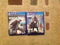 Destiny and Watch Dogs for Assassins creed Unity