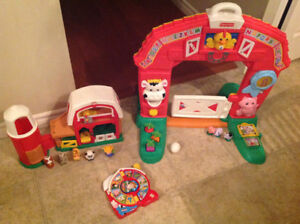 Various baby and toddler toys