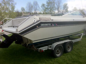20 foot Bow Rider with 5.7 inboard-outboard