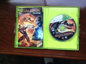 MORTAL COMBAT for XBox 360  in Excellent Condition
