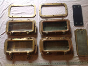 ----------BRASS       PORT      HOLES.    ( NEW ) ---------