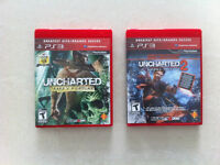 PS3 - Uncharted and Uncharted 2