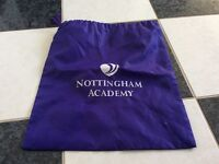 FREE Brand new unused Nottingham Academy gym bag FREE
