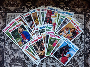 32 Country Woman magazines excellent condition