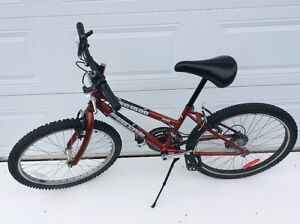 Vélo pour fillette ou femme de petite taille