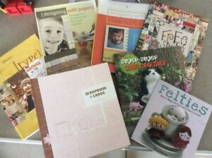 Crafting/Scrapbooking Books